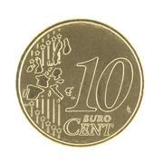 Stock Photo of 10 Eurocent