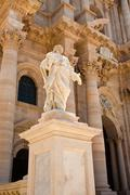 Cathedral of syracuse, sicily Stock Photos