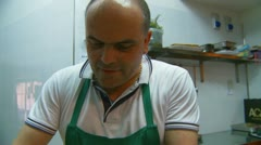 Delicatessen in Italy (11) Stock Footage