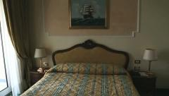 Hotel room Stock Footage