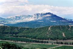 Demerdzhi's mountain Stock Photos
