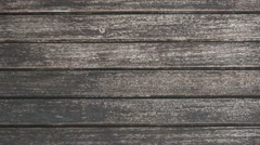 Zoom out closeup on tileable dark wood texture Stock Footage