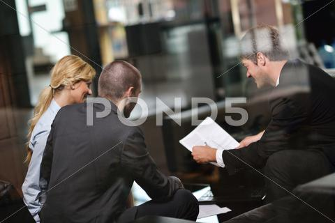 Stock photo of business people group