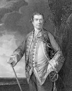 Augustus Keppel 1st Viscount Keppel - stock photo