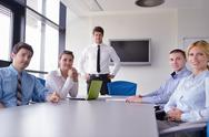 Business people in a meeting at office Stock Photos