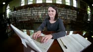 Stock Video Footage of Confident Student 2680