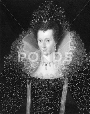 Stock photo of Elizabeth I Queen of England