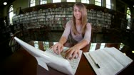 Stock Video Footage of Confident Student 2681