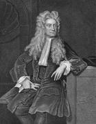 Isaac Newton - stock photo