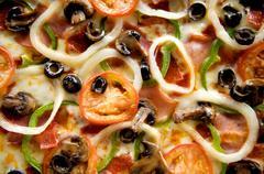 Stock Photo of pizza