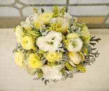 beautiful floral bouquet - stock photo