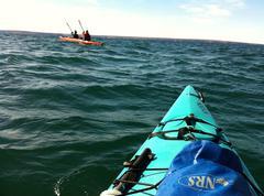 Kayaking - stock photo
