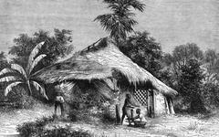 Native Hut at Bombay Stock Photos