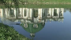 Duck Water Palace Stock Footage
