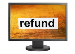Refund concept Stock Photos