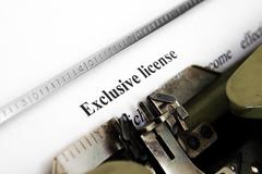 Exclusive license Stock Photos