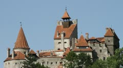 Dracula's Castle - stock footage