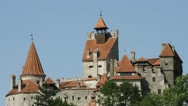 Stock Video Footage of Dracula's Castle