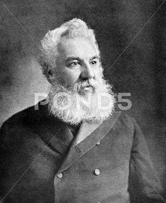 Stock photo of Alexander Graham Bell
