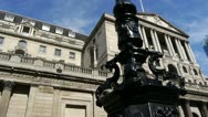 Bank of England, London. Stock Footage