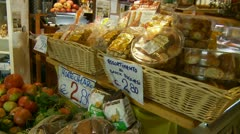 Delicatessen in Italy (1) Stock Footage