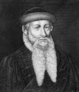 Johannes Gutenberg Stock Photos