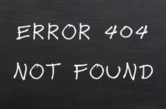 Virhe 404 - sivua ei löydy Kuvituskuvat