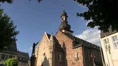 Germany - Ruedesheim - Sankt Jakobus Church Stock Footage