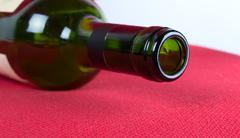 Closeup open a bottle of wine Stock Photos