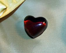 Stock Photo of glass heart