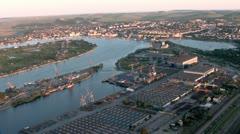 Danube Stock Footage