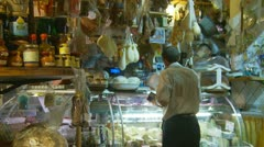 Delicatessen in Italy (22) Stock Footage