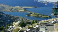 Stock Video Footage of 0157-queenstown-view4