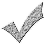 3D Stone Tick - stock illustration