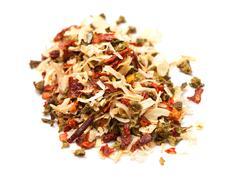 multi-colored spices - stock photo