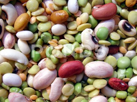 Stock photo of beans salad