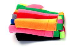 velcro straps - stock photo