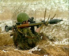 Grenade-gun Stock Footage