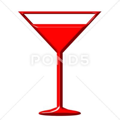 Stock Illustration of Alcohol Cocktail