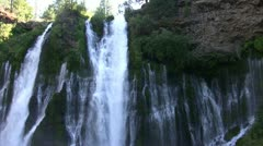 Burney Falls 20 Waterfalls Stock Footage