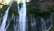 Stock Video Footage of Burney Falls 20 Waterfalls