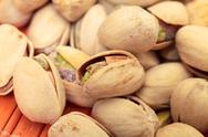 Pistachios heap Stock Photos