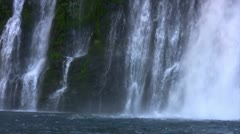 Burney Falls 22 Waterfalls Stock Footage
