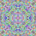 Kaleidoscopic Design Stock Illustration