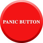 Panic Button Stock Illustration