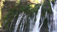 Burney Falls 27 Waterfalls Stock Footage