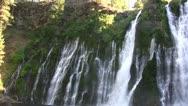 Stock Video Footage of Burney Falls 27 Waterfalls