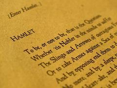 william shakespeare hamlet - stock photo