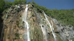 Tranquil Waterfall - Croatia - stock footage