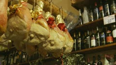 Delicatessen in Italy (19) Stock Footage